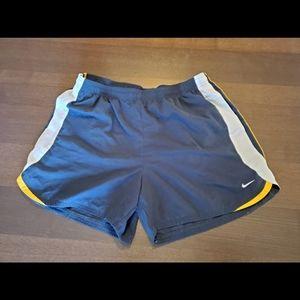 Nike women's running shorts. Size large.